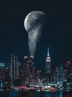 SF, fantasy, post-apocalypse, and other genre visual arts Ruined City, Space Images, Post Apocalypse, Fantasy Landscape, Beautiful Space, New Image, High Quality Images, Moon, Explore