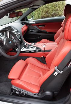 Gorgeous 2012 BMW M6 interior