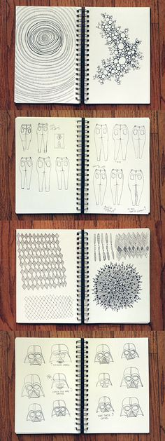 sketch book designs - need to start doing this