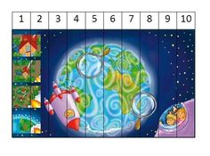 Puzzel Sistema Solar, Planet Coloring Pages, Crafts For Kids, Arts And Crafts, Space Activities, Space Theme, Out Of This World, Kid Spaces, Outer Space