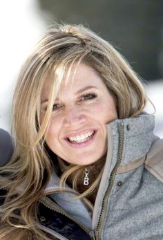 Queen Maxima from The Netherlands during the official PRESS moment of the Dutch Royals on winter holiday in Lech, Austria, 23.02.2015
