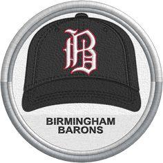 Birmingham Barons - baseball cap hat - uniform - sports logo - Southern League MiLB - Minor League Baseball - Created by Jackson Cage