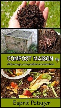 Compost maison : démarrage, composition et entretien. Où mettre votre composteur? Que peut-on mettre au compost maison? Comment l'entretenir? Découvrez tout ce qu'il faut savoir pour réussir son compost. Recycler vos déchets verts du jardin ou de la poubelle par compostage... Engrais naturel potager, compost facile, composteur bois, compost extérieur.