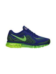 Nike Air Max 2014 Deep Royal Blue/Volt/Black/Electric Green