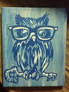 For my KKG best friend. Sorority. Kappa. Owl.