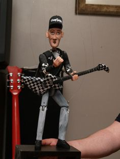 Rick Nielson from Cheap Trick loved his darrionette! You will, too! www.darrionettes.com