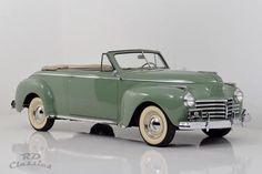 Car Chrysler Windsor 1941 for sale. Chrysler Windsor Convertible 1941 for sale. The beautiful Chrysler Windsor is in a excellent c Retro Cars, Vintage Cars, Antique Cars, Vintage Ideas, Vintage Designs, Desoto Cars, Chrysler Windsor, Classy Cars, Classic Motors