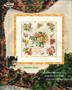 Gallery.ru / Фото #1 - 327 - gipcio Cross Stitch Flowers, Cross Stitch Patterns, Cross Stitch Gallery, Marjolein Bastin, Needle And Thread, Wooden Signs, Cross Stitching, Needlework, Vintage World Maps