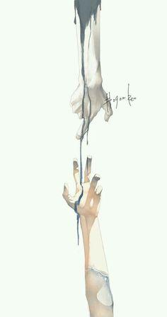 art by Re゜ Anime Hand, Hand Kunst, Poses References, Vampire Knight, Hand Art, Art Inspo, Art Reference, Amazing Art, Concept Art