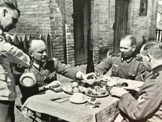 Celebrating Hitler`s birthday - Staking region 20 April 1942