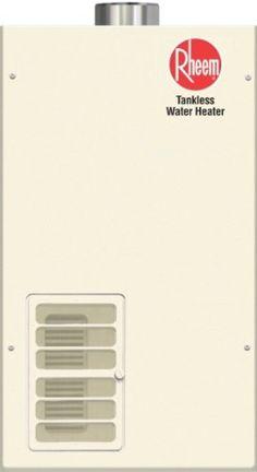 rheem rtg74pvp indoor liquid propane tankless water heater for 23 bathroom homes
