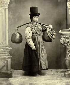 Water carrier, c.1860 by Carlo Ponti