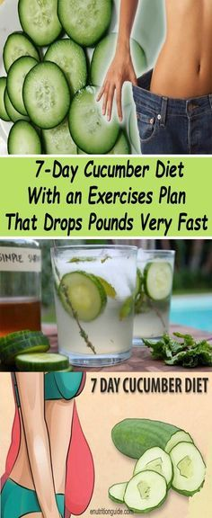 If you need to look great for some special occasion soon, the cucumber diet is a quick and safe way to lose weight in only 10 days. The main ingredient in the diet is a cucumber, and it can be consumed in unlimited amounts. Therefore, whenever you feel hu Diet Plans To Lose Weight, Losing Weight Tips, How To Lose Weight Fast, Weight Loss, Lost Weight, Weight Gain, Fitness Motivation, Fitness Diet, Fitness Workouts