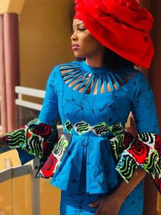 ( 05 Photos )Mode Ramadan - le « Sagnsé African Wear Dresses, Latest African Fashion Dresses, African Print Fashion, Africa Fashion, African Attire, African Blouses, African Traditional Dresses, Malm, Diva