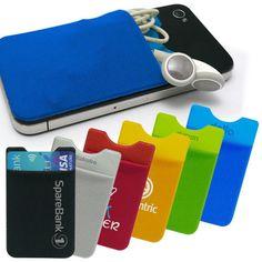 http://www.ecpromotion.com/mobilen-kortlomme Kortlomme til mobilen 2514 - ECpromotion.com Perfekt til kort, billetter, ID, kontanter, etc. 15 standardfarger å velge blant. Kortlomme til mobilen 2514