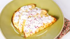 Mario Batali's Crepes with Ricotta and Salami