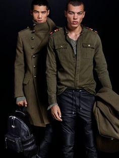 Balmain x H&M Lookbook  Balmain x H&M Looks