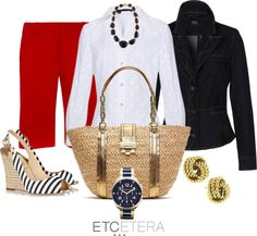 """""""Etcetera By the Sea"""" by blalockboutique on Polyvore"""