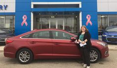 Stephanie, we're so excited for all the places you'll go in your 2016 HYUNDAI SONATA!  Safe travels and best wishes on behalf of Kunes Country Chevrolet Buick GMC and BEN VANCE.