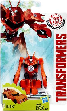 Hasbro Transformers Robots in Disguise Legion Class Series: Decepticon Bisk Action Figure
