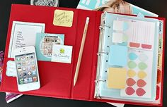 I LOVE NOTEBOOK  organization.  All the papers on your frodge can be corraled to:  Family Notebook (Emergency numbers, school info, appointments, restaurant menus, etc) Holiday Notebook (Party Planning, Christmas Card Addresses, Gift Ideas and wish lists, Calendar for the hectic season, family recipes, etc) Home Decor Notebook (fabric swatches, paint swatches, magazine wish list clippings, etc)