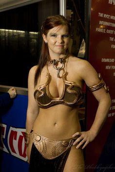 Slave Princess Leia, Photo by Chris Gampat.