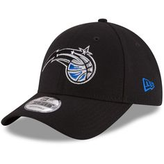 Men s Orlando Magic New Era Black Official Team Color 9FORTY Adjustable Hat 4fd2355d94f