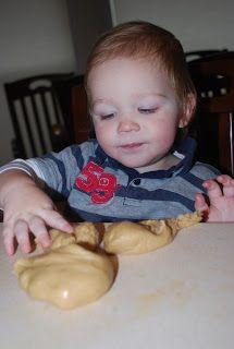 Peanut Butter Playdoh