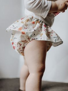 A beautiful cotton floral skirt with bloomers attached. This bloomer skirt is suppose to be really full and bubbly. Baby Girl Fashion, Kids Fashion, Winter Fashion, Southern Baby Names, Baby Bloomers, Baby Outfits, Cute Baby Clothes, Babies Clothes, Baby Sewing