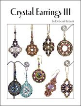 Crystal Earrings III E-Book by Deborah Roberti at Bead-Patterns.com