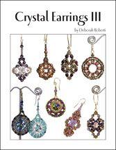 Crystal Earrings III E-Book by Deborah Roberti at Bead-Patterns.com