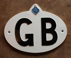 GB RAC Touring Badge | Automobilia Car Badges & Signs – Yester Home