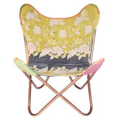 Kantha Sling Chair - the butterfly chair goes bohemian...