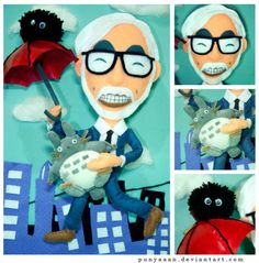hayao miyazaki  ***If this is a collectible toy, I want it. ...and yes I am grown lol