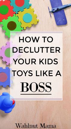 Organize Kids Toys/ Organize/Minimalism/Family/Declutter