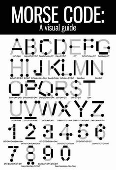 Funny pictures about Now You Can Write Morse Code. Oh, and cool pics about Now You Can Write Morse Code. Also, Now You Can Write Morse Code photos. Simple Life Hacks, Useful Life Hacks, Survival Tips, Survival Skills, Survival Stuff, Camping Survival, Camping Hacks, The More You Know, Good To Know