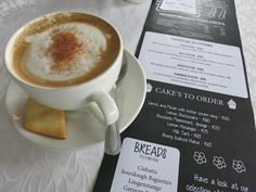 Amalinda Tea Garden Ciabatta, East London, Latte, Bread, Tableware, Garden, Food, Dinnerware, Garten