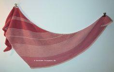 Strickschal Drachenfels / Dreieckstuch   knitted shawl