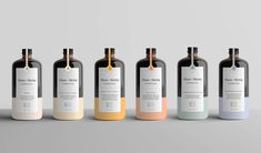 Minimal Packaging Design for Muse and Metta. Branding and packaging for Muse+ Metta Kombucha. This brand is more than a beverage, it's culture of health, art, and possibility. The brand and package was made by Kati Forner,a designer from Los Angeles. | HeyDesign.com