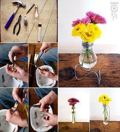 #DIY Light Bulb Vase