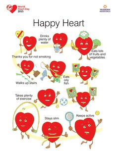 Comic company - get fit & happy heart Health Goals, Health Motivation, Happy Heart, Your Heart, World Heart Day, Heart Month, Heart Poster, Diabetes Treatment Guidelines, Heart Health