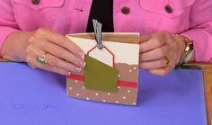 Photos Lunch Bag Mini Book | Sandi Genovese