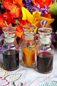 Natural Color Food Dyes by Chocolate Craft are made from natural ...