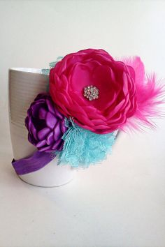 LOVE this head band  Abby Cadabby Inspired headband by JensBowdaciousBows on Etsy, $12.95