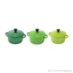 Set of 3 Mini Cocotte