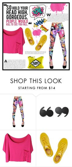 BadAssLeggings.com by dolly-valkyrie on Polyvore featuring adidas, Kate Spade and Noir Jewelry