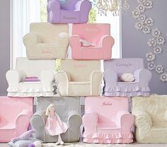 Girls' Anywhere Chair Collection | Pottery Barn Kids