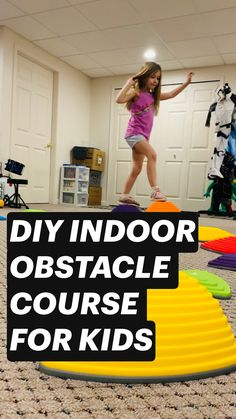 Activities For 2 Year Olds, Indoor Activities For Kids, Infant Activities, Family Activities, Games For Kids, Diy For Kids, Kids Obstacle Course, Baby Sensory, Exercise For Kids