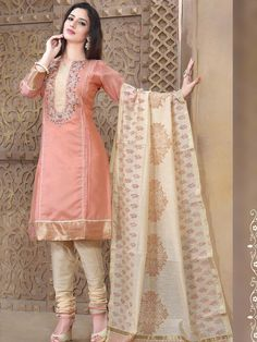 Delightful outfit will add a regal touch to your personality. Item Code: SLUM8315 http://www.bharatplaza.com/women/salwar-kameez.html