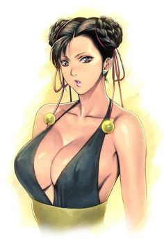 Chun Li, Street Fighter.